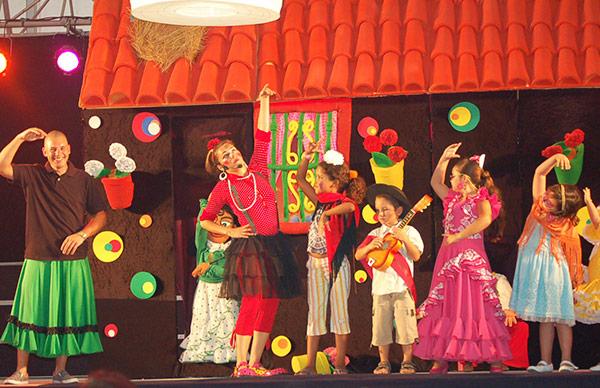 teatro flamenco animadores fiesta malaga